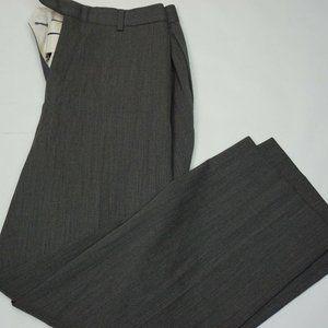 Brooks Brothers Madison Gray Flat Frontpants